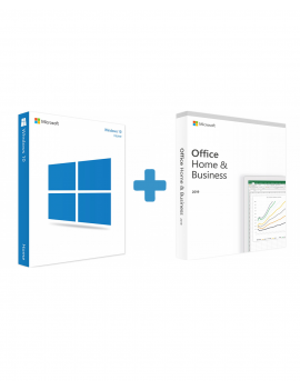 Windows 10 Home + Office 2019 Home and Business (Bundle)