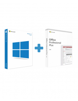 Windows 10 Home + Office 2019 Professional Plus (Bundle)