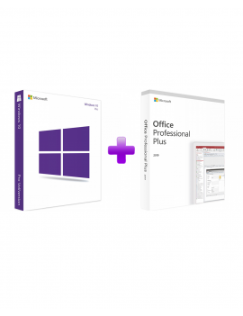 Windows 10 Professional + Office 2019 Professional Plus (Bundle)