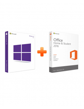 Windows 10 Professional + Office 2016 Home and Student (Bundle)