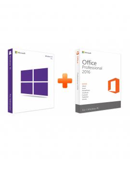 Windows 10 Professional + Office 2016 Professional (Bundle)