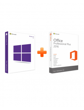 Windows 10 Professional + Office 2016 Professional Plus (Bundle)
