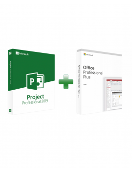 Project 2019 Professional + Office 2019 Professional Plus (Bundle)
